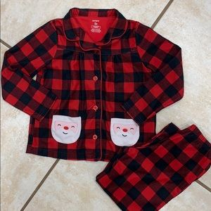 Carter's Christmas pajamas